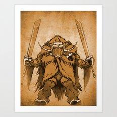 The Ox Art Print