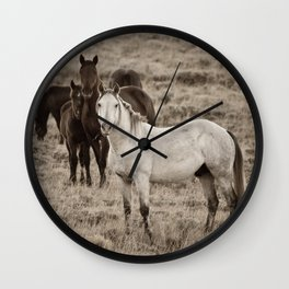 Cautious Wall Clock