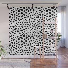 Cheetah skin pattern design Wall Mural