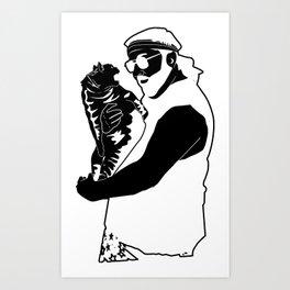 Scherrerpalooza Art Print