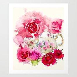 Tea 2 Art Print