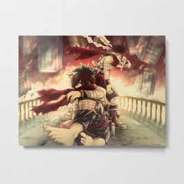 Boku no hero Metal Print