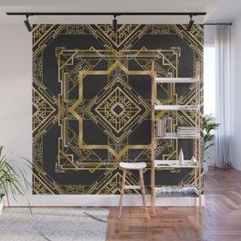 Art Deco Geometric Pattern Wall Mural