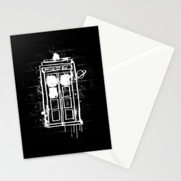Time Lord Graffiti  Stationery Cards