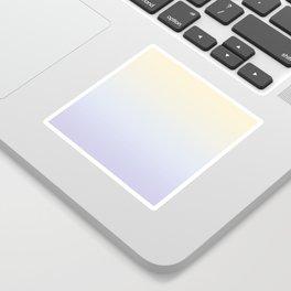Sunrise Soft Gradient Sticker