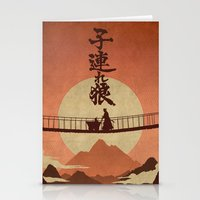 okami Stationery Cards featuring Kozure Okami by WITHSTAND