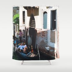 To Venice with Love Shower Curtain