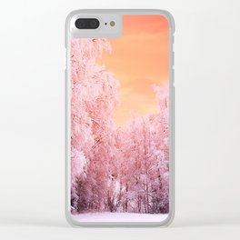 Bellisimo Winter Clear iPhone Case