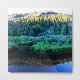 Watercolor Landscape, Lost Creek Wilderness 34, Colorado Metal Print