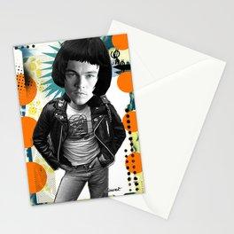 COLLAGE: Leo Di Caprio Ramone Stationery Cards