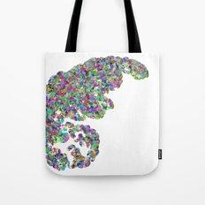 Color binary tree  Tote Bag