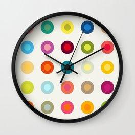 Geometric Circles Wall Clock