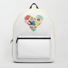 Love - Mother - Life Backpack