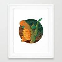 patrick Framed Art Prints featuring Patrick by Fernanda Frasson