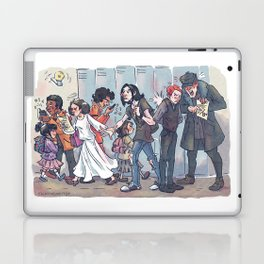 In honor of the beginning of the new school year Laptop & iPad Skin