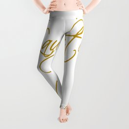 Love Laughter And Happily Ever After Leggings