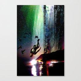 Floating Still Canvas Print