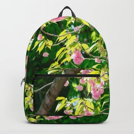 Sweeping Cherry Blossom Branches Backpack