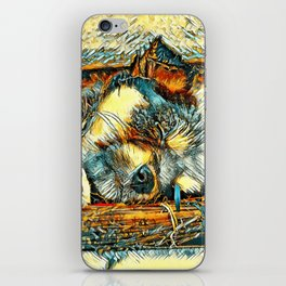 AnimalArt_Dog_20170906_by_JAMColorsSpecial iPhone Skin