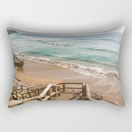 Way to the Beach II Rectangular Pillow