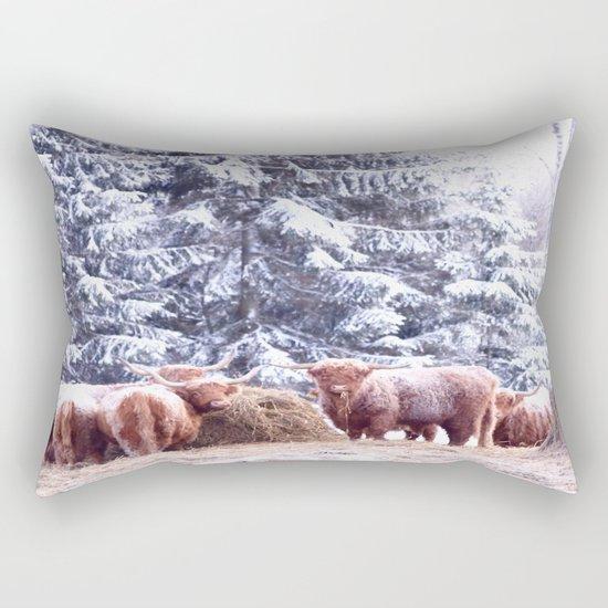 West Highland Cattle Rectangular Pillow