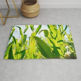 Corn leaves Rug