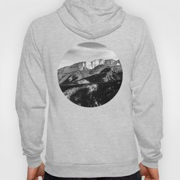 Black and White Mountains Hoody