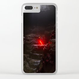 The Force With You Sci-Fi Clear iPhone Case