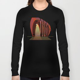 Entrance To The Unknown / Elephant 2 Long Sleeve T-shirt