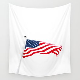 The American Flag (Color) Wall Tapestry