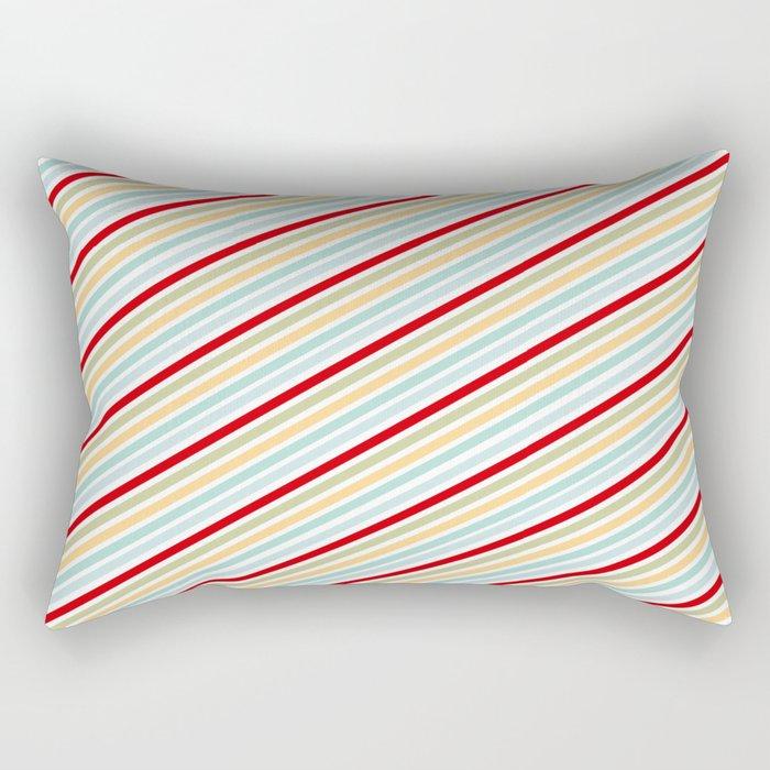All Striped Rectangular Pillow