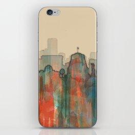 Wellington City Skyline, NZ - Navaho iPhone Skin