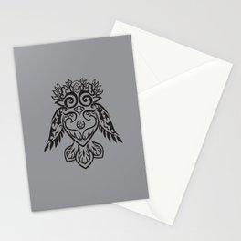 Forest Owl Stationery Cards