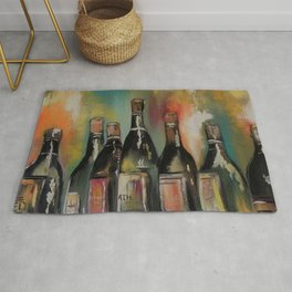 Time for Wine Rug