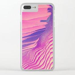 cliffs edge 100 Clear iPhone Case