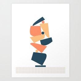 Stack (A) Art Print
