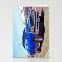 ford Stationery Cards featuring Roadside ford by Vorona Photography