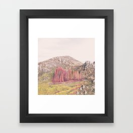 whispers of autumn Framed Art Print