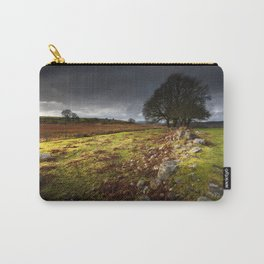 Approaching storm over Brecon, South Wales UK Carry-All Pouch