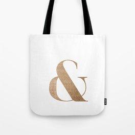& BURLAP Tote Bag