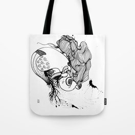 Uprooted Bird Tote Bag