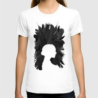 black swan T-shirts featuring Black Swan by Bill Pyle