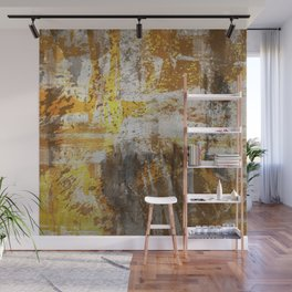 Abstract 20 - Study In Bronze Wall Mural