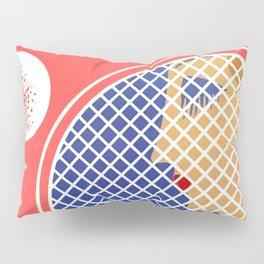 "Art Deco Design ""Love – Tennis Suite"" Pillow Sham"