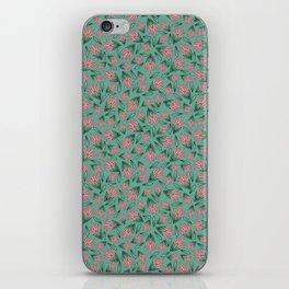 Tossed Lotus iPhone Skin
