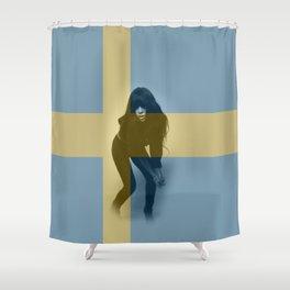 ESC Sweden 2012 Shower Curtain