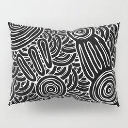 Aboriginal Art Authentic - Meeting Places Pillow Sham