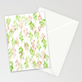 180726 Abstract Leaves Botanical 26 Stationery Cards