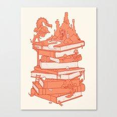 The magic of books Canvas Print