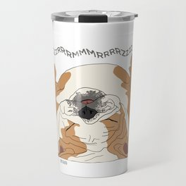 English Bulldog Sounds Travel Mug